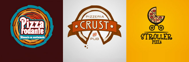 30 Appetizing Designs of Pizza Logo