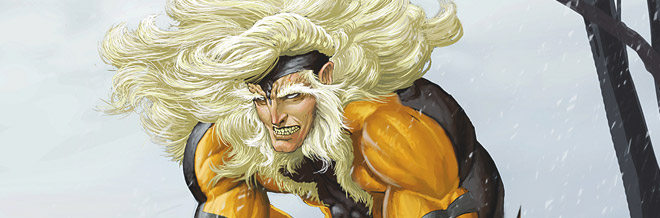 22 Sabretooth Illustration Artworks