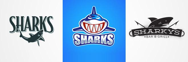 A Fierce Collection of Shark Logo