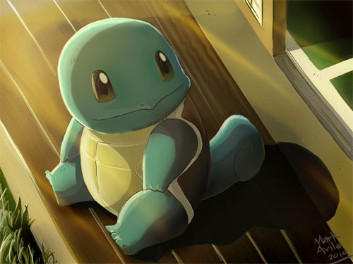 Pokemon: Squirtle