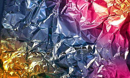 Texture - Rainbow Foil