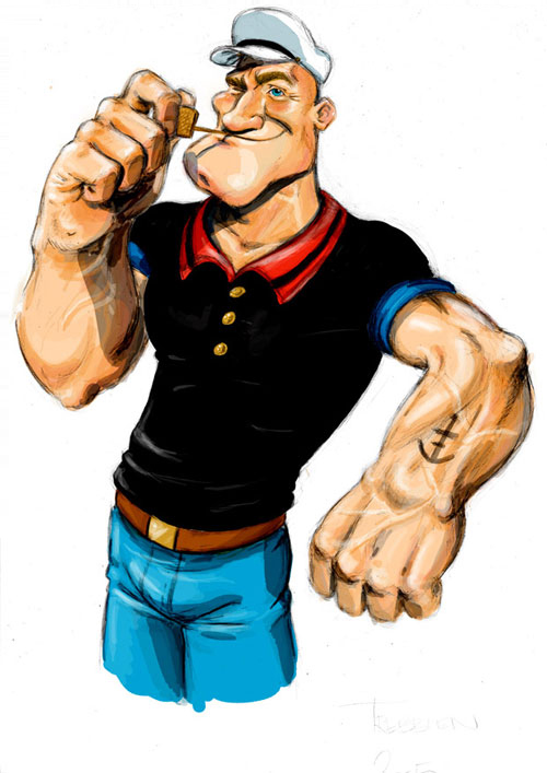 popeye the sailorman