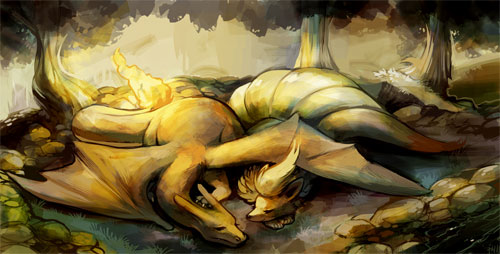 Charizard and Ninetales