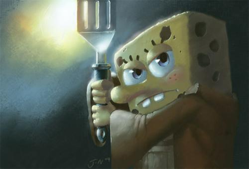 SpongeBOB JEDi Pants