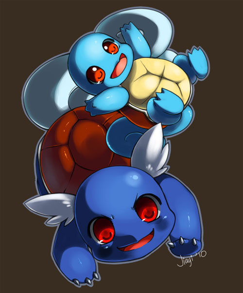 Squirtle and Wartortle
