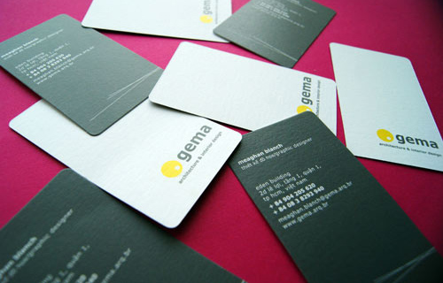 Gema Design Business Card