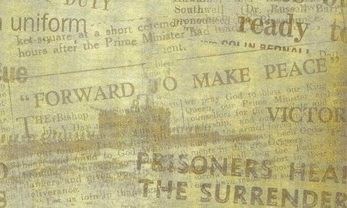 30 Old Looking Sets Of Newspaper Texture