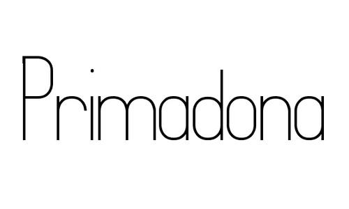 primadona font