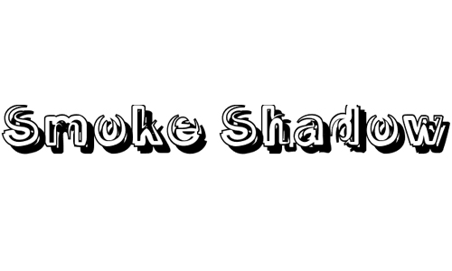 Smoke Shadow font