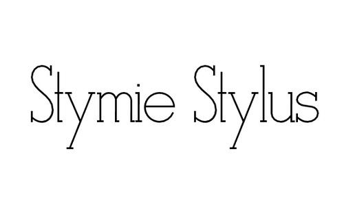 Stymie Stylus font