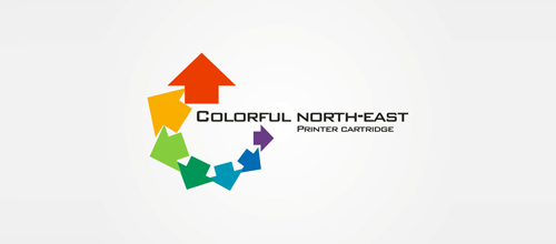 Colorful North-East logo