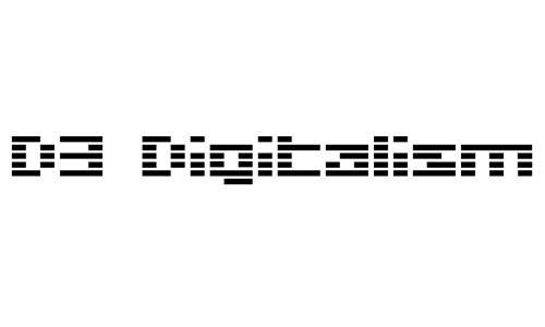 D3 Digitalism font