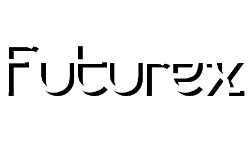 Futurex Embossed font
