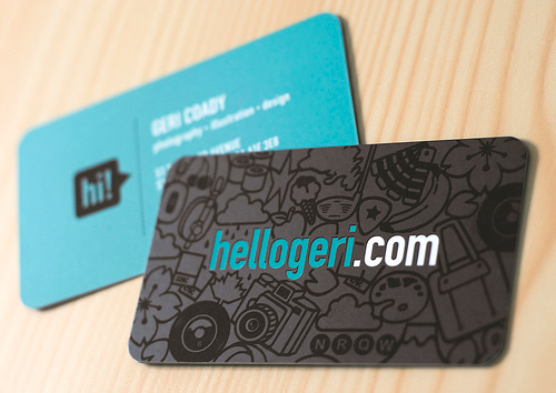 hellogeri Business Card