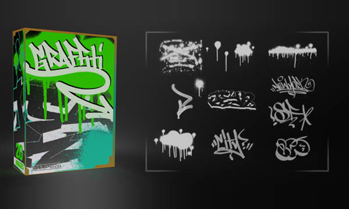 21 Awesome Graffiti Brushes