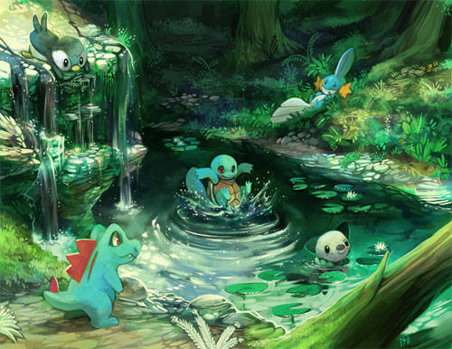 The Water Starters