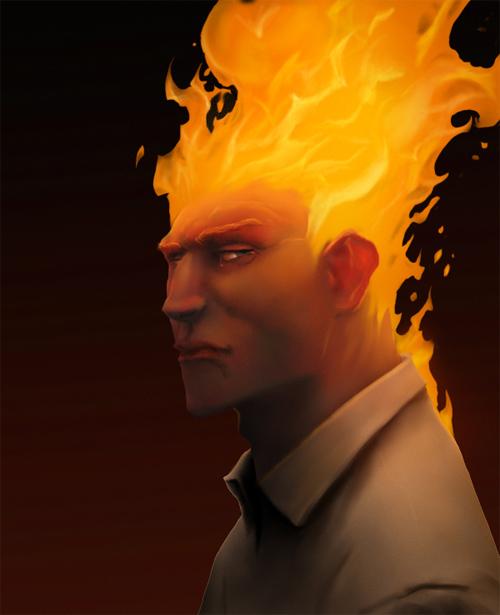 W4M1's human torch