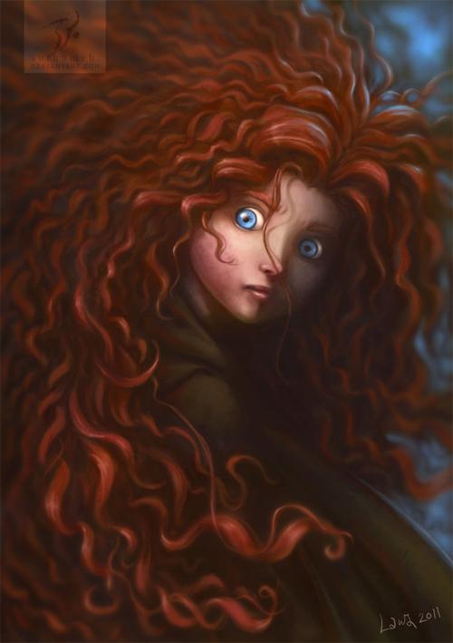 brave redhead