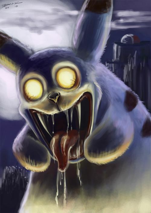 Mutant Pikachu