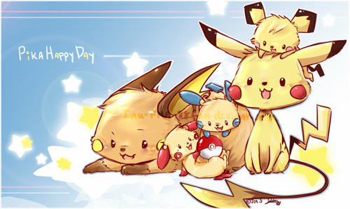 Pikachu's Play date