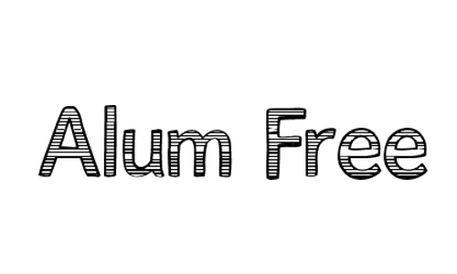 AlumFreePromotional font