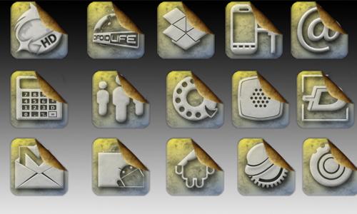 icones sticker