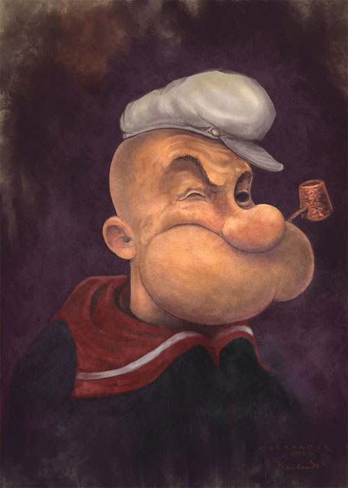 TDP-Popeye, sorry Rembrandt