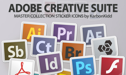 Adobe CS5.5 Creative Suite: Sticker Icons