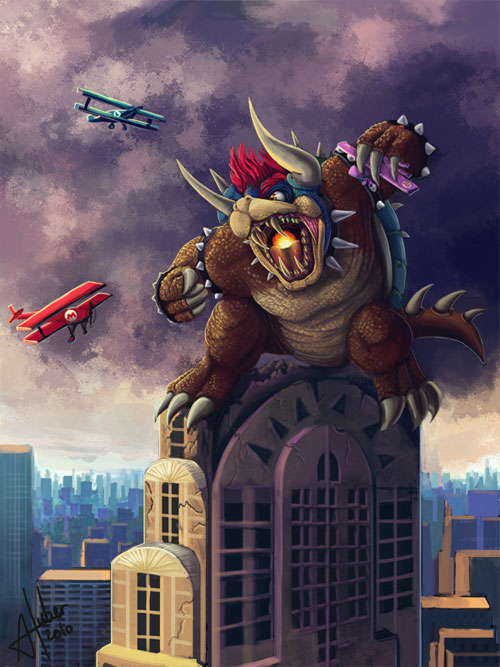 King Bowser Kong