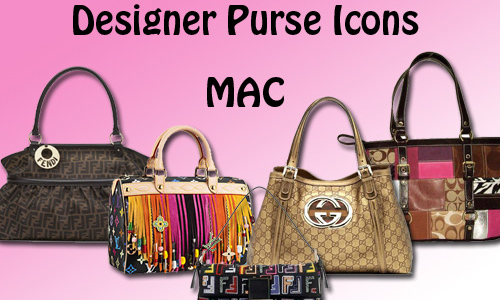 Designer Purse Icons