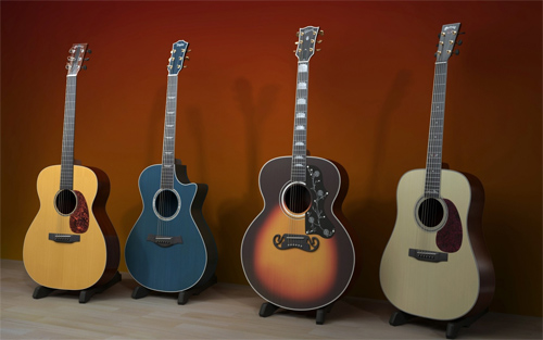 Beautiful Guitars Wallpapers