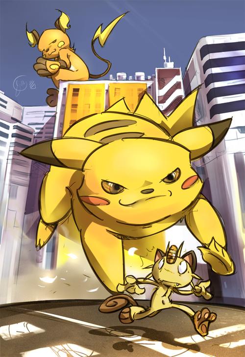 tank Team Pikachu