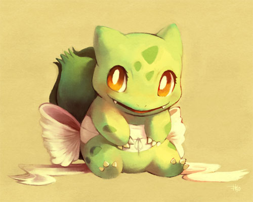 Bulbasaur Painting
