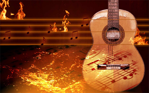 30 Awesome Examples of Guitar Wallpaper for Free Naldz Graphics