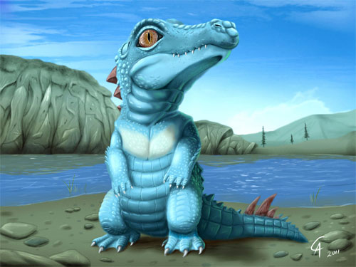 Real Totodile