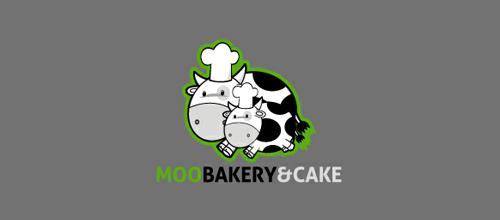 Moo Bakery&Cake logo
