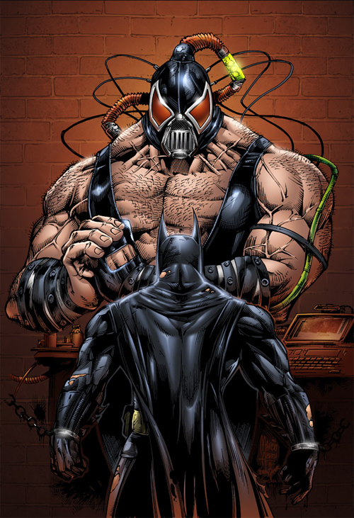 batman vs bane 2