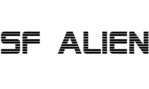 SF Alien Encounters font