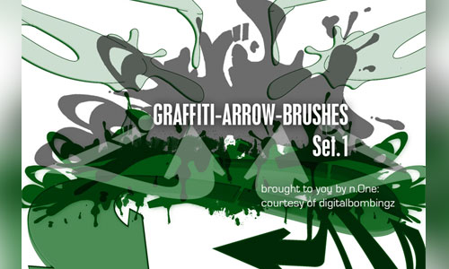 Graffiti Alphabet Brushes