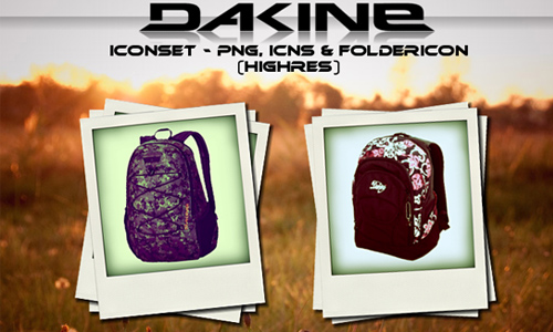 Dakine backpack iconset