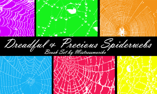 Dreadful + Precious Spiderwebs