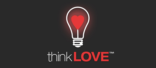 think LOVE logo