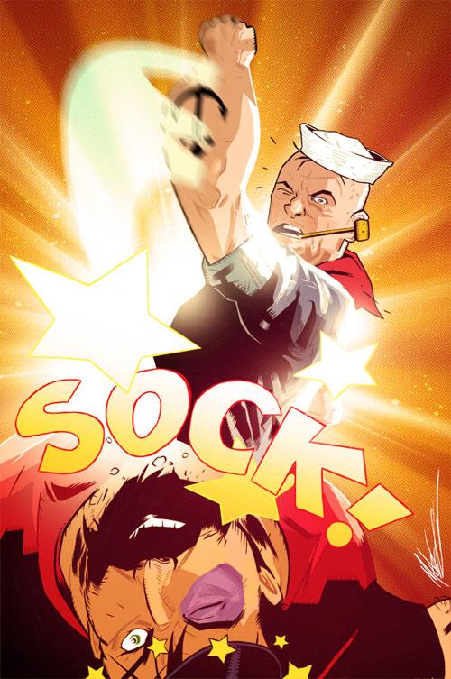 Popeye In Color