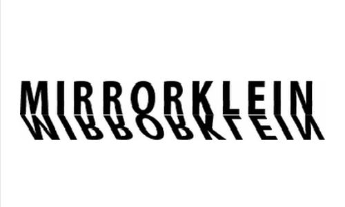 MirrorKlein Shadows font