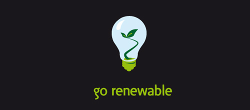 Go renewable logo