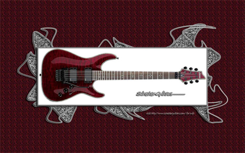 Schecter Hellraiser wallpaper