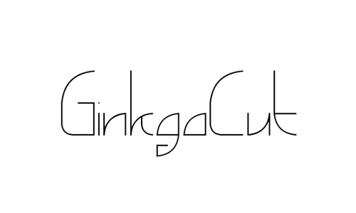 ginkgocut font