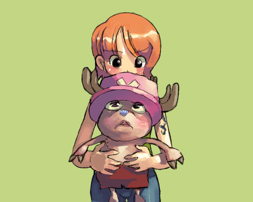 nami and chopper