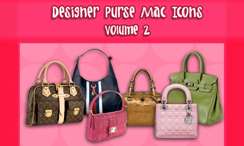 Designer Purse Icons Vol. 2