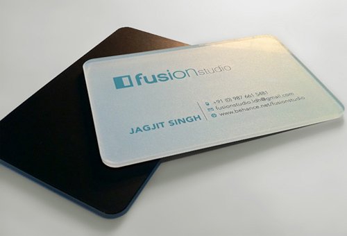 Acrylic Business Card